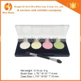 4 Warm Colors With 1 Helper Matte Kiss Beauty Cosmetic Eye shadow