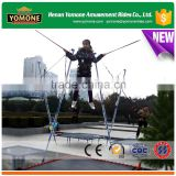 Portable Amusement Rides in Park/Square Children Bungee Jumping Equipment