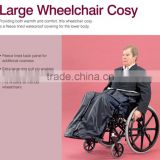Rehabilitation Therapy Supplies Full Length Fleece Lining Waterproof Foot Leg Cover Scooter Wheel Chair Kozy