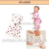 High Quality lovely baby product fashionable babies christmas leg warmers wholesale