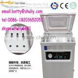 Double chamber vacuum packing machine DZ600/2S for sea food,salted meat,dry fish,pork,beef,rice