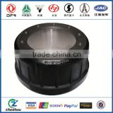 Dongfeng Kinland truck axle parts rear brake drum for car accessories with China supplier
