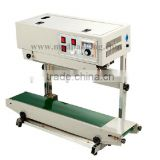 Lacquered FR-770 Series Automatic Plastic Film Sealing Machine Automatic Conveying Device
