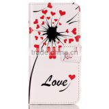 Fashion Painted Leather Case Flip Cover For Samsung S6 Edge Wallet Cases