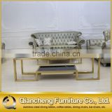 INquiry about Eurpean style stainless steel golden glass tv stand