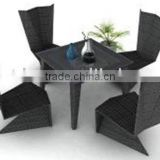 rattan dining table and chair or garden table and chair