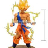 Seven dragon ball Wukong Super Saiyan battle turned toys toy doll model