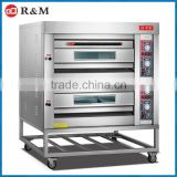 Industrial French Loaf Bakery Price of Oven Machine /Baguette Gas Oven Machines With Shelf