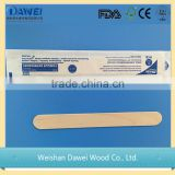 High Quality Wholesale sterilized birch wood tongue depressor