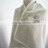Competitive High Quanlity Latest Top Design Knit Jersey Blanket Wool Blanket