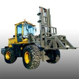 Cross-country forklift multi-cylinder forklift equipment