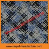 Wholesale cheap China modern pattern jacquard cut loop office pp Carpet Tiles with backing