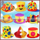 Halloween Costume Dance Stage Performance Props Adult Clown Top Hats