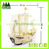 New Product Sailing Puzzle Toys,3 D Puzzle