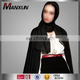 Top One Best Selling Daily Scraf Muslim Black Chiffon One Layer Hijab Dubai Design Fashion Women Wholesale