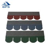 fish scale shape asphalt roof shingle