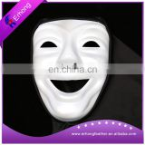 White Skull scary plastic cosplay mask smile