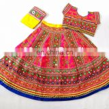 Designer Gamthi chaniya choli- Indian Traditional rabari Embroidered Ghagra Choli
