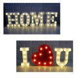 Advertising acrylic outdoor light box signs  marquee letters Christmas wedding valentine's day decoration