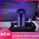 Car Purifier usb with Negative Ion Hepa Filter Fresh Portable USB Aluminium Alloy Design Car Ion Purifier