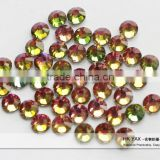 0413L China Supplier hot fix Rainbow color crystal,Wholesale Crystal rainbow color,color rainbow Crystal