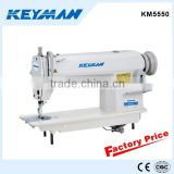 KM5550 High speed lockstitch sewing machine sewing machine table stand 5550 sew machine                                                                         Quality Choice