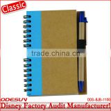 Disney factory audit manufacturer's custom spiral notebook with pen 1411011                                                                                                         Supplier's Choice