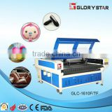 GLC-1610TF Double heads automatic feeding fabric cutting machine with conveyor and correction system CE and SGS