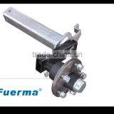 Torsion Half Trailer Axle 4 holes Without Brake
