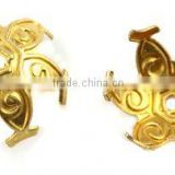 Diameter 10.5mm Jewelry findings Wholesale Inexpensive Brass Bead Caps