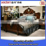 Wood luxury carving bedroom antique furniture,Bedroom Furniture Type and Bedroom Set Specific Use New classic king size bed set                                                                         Quality Choice