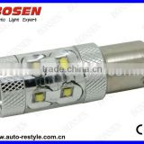 Turn light, brake light 1156 1157 BA15S BAU15S,BAY15D BA15D projector High power led car light 50w cree chip
