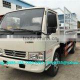 Euro II or Euro IV DFAC 3300 light truck, 3.5t light box cargo trucks on sale in Nigeria