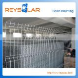 Solar Module Racking PVC coating Solar Panel Power Protective Guard Fencing for Solar Mounting