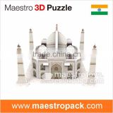 13PCS mini world architecture 3d puzzle Taj Mahal