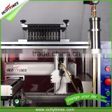alibaba china oil vaporizer cartridge filling machine/ hemp atomizer filling machine/ disposable cigarette filling machine