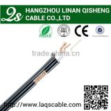 Copper conductor coaxial cable rg59 with power line outdoor used rg58 coaxial cable applied in CCTV