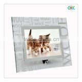 decorative glass mirror frame