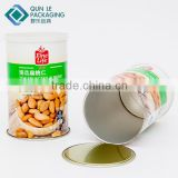 Food Direct Composite Can Cashew Nuts Packaging Material