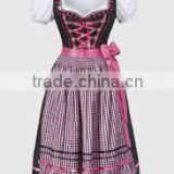 Mini Dirndl with blouse & apron / Trachten Dirndl Dress / Traditional Bavarian Dirndl