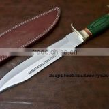 High Quality Custom made hunting knives (420C / 440 c) steel 11 inch Blade Bowie knife