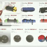 Aqua bag/Air Water inflatable PVC oblong/cylindrical bag/water fitness bag/air gyms bag/water air power strength bag