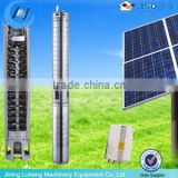 12V dc submersible water pump solar, mini Screw water pump 120W, solar powered irrigation water pump