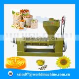 High outputs screw corn germ oil pressing machine / hemp oil extraction machine for hot sale