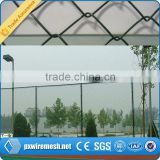 Alibaba china hot dipped used chain link fence made of fully-automatic chain link fence machine for sale from hebei