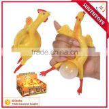 new arrival Chicken N' Egg Squishy Toy chicken lay out egg Party Set toy for kids