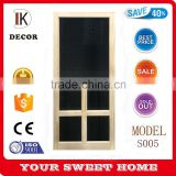 China Alibaba wholesale hot sale solid pine wood 5-bar screen door                                                                                                         Supplier's Choice