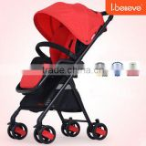 2016 Compact Light Weight Wheels Baby Star Stroller Korea With EN1888:2012