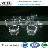 Quartz Apparatus Fused Clear quartz crucible