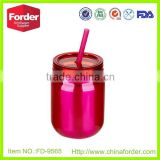 colorful stainless steel paitning wholesale ball mason jars